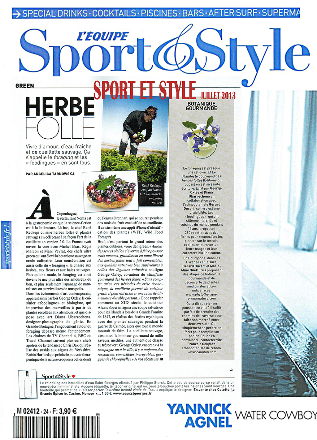 sport & style COUVERTURE JUILLET 2013