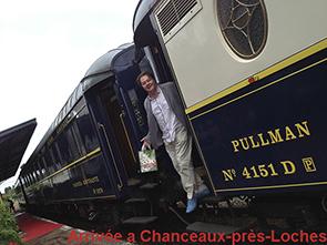 Arrivée de George Oxley en Orient Express