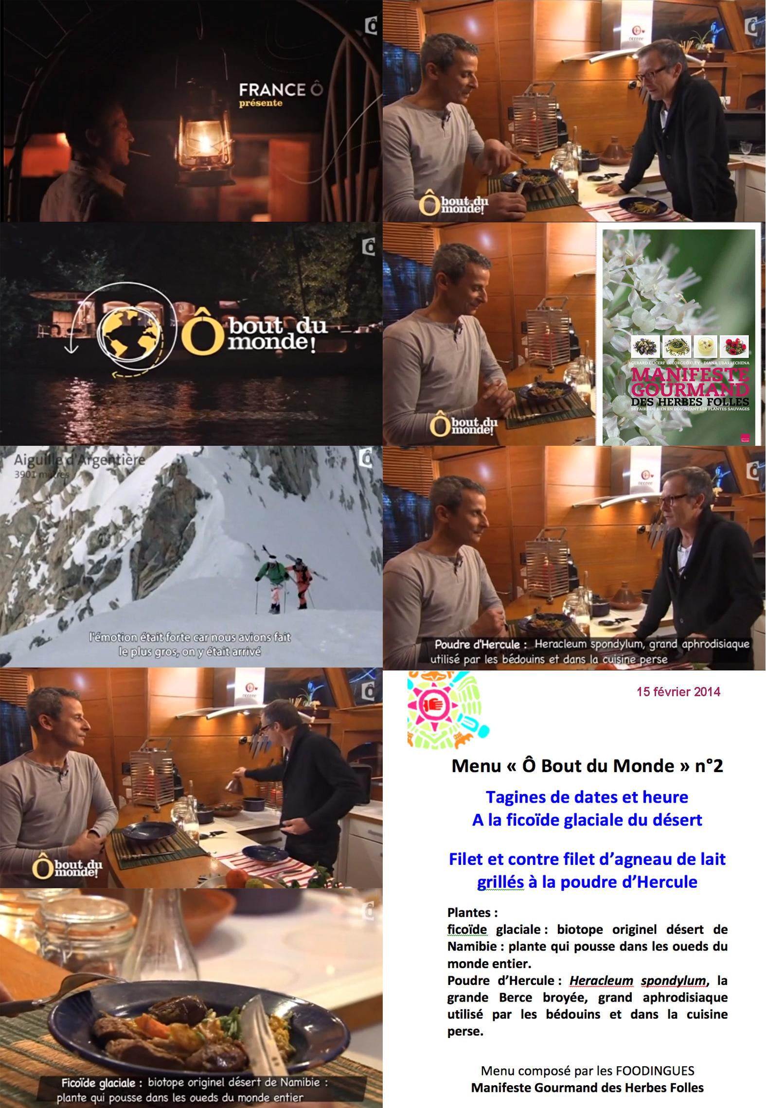 Laurent Bignolas et Jamel Bahli dégustent les Herbes Folles