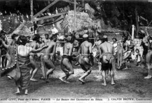 le Bal des Primitifs 100 ans avant le Musée du Quai Branly
