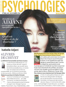 Psychologies ADJANI 4 NOV 2014